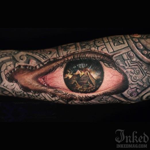 pyramid tattoos photo - 26