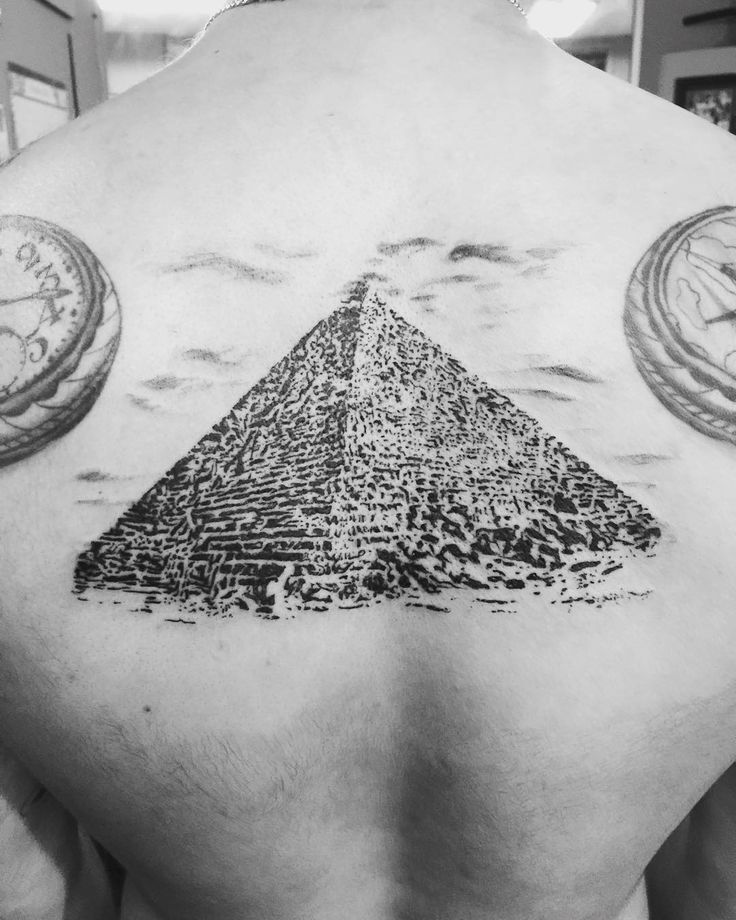 pyramid tattoos photo - 27