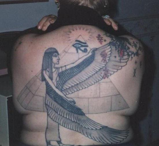 pyramid tattoos photo - 28