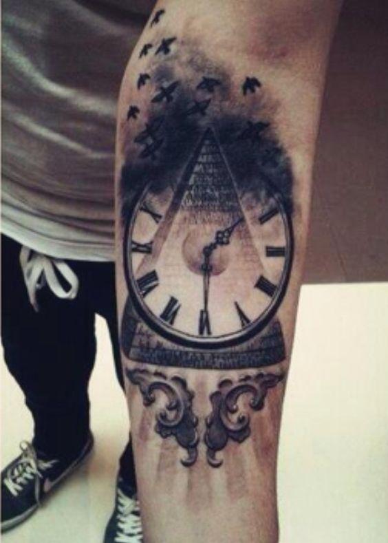 pyramid tattoos photo - 3