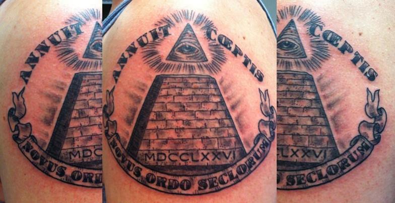 pyramid tattoos photo - 41