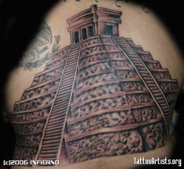 pyramid tattoos photo - 44