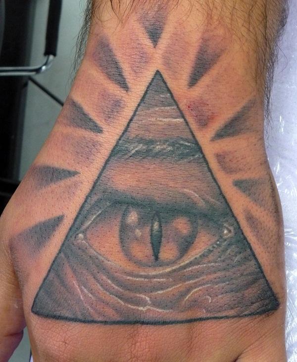 pyramid tattoos photo - 5
