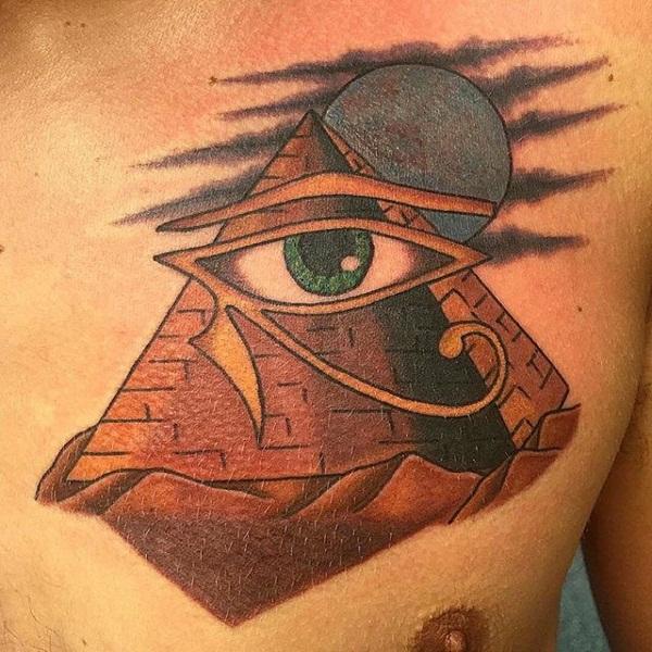 pyramid tattoos photo - 6