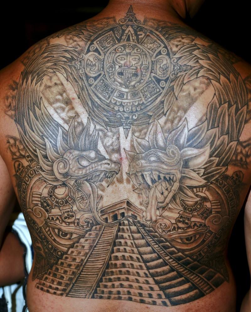 pyramid tattoos photo - 7