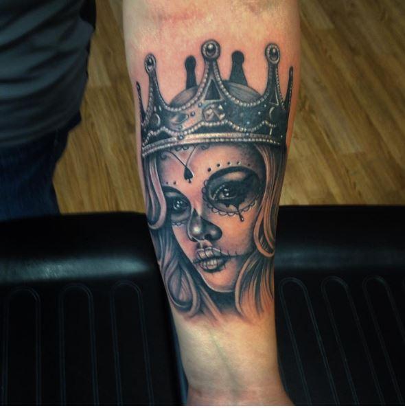 queen tattoos photo - 19