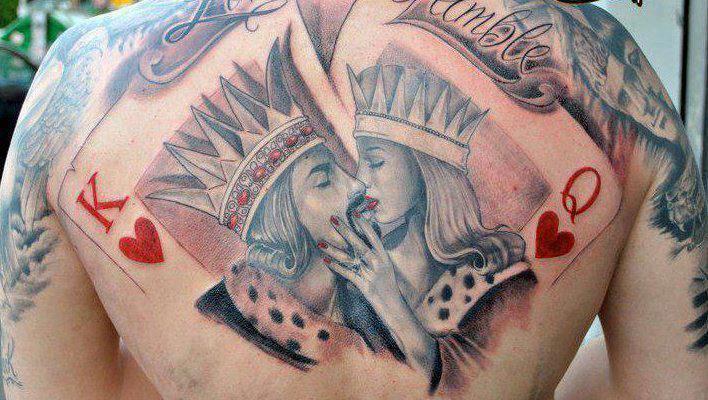 queen tattoos photo - 26