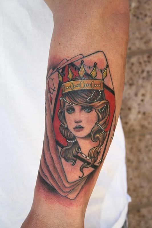 queen tattoos photo - 42