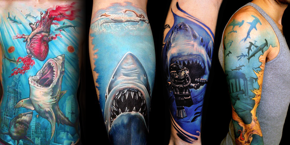 shark tattoos photo - 26