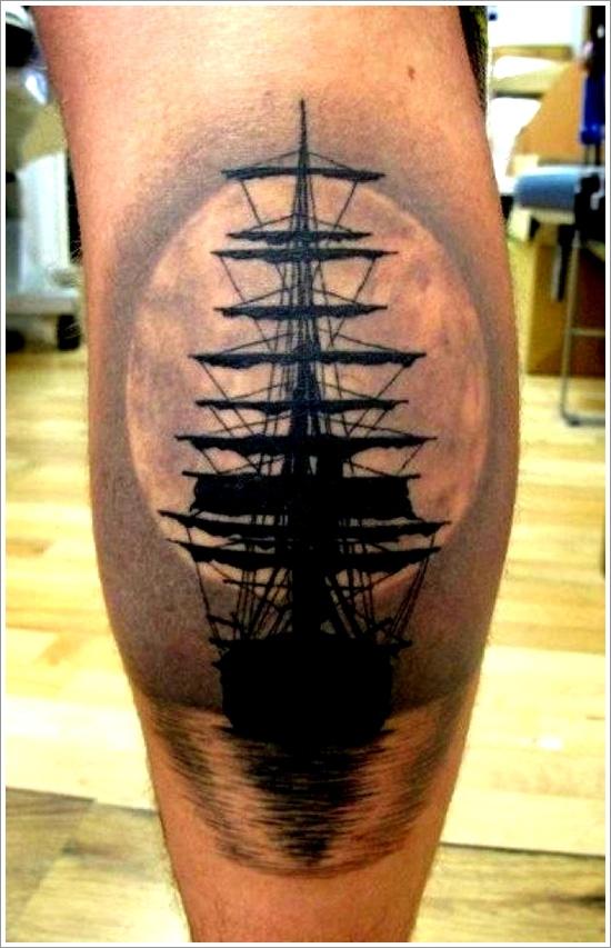 ship tattoos photo - 1