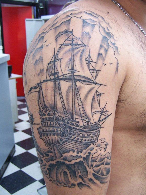 ship tattoos photo - 11