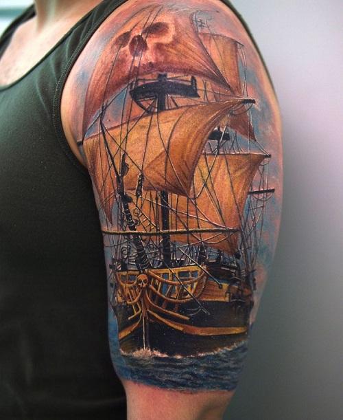 ship tattoos photo - 12