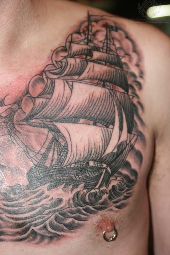 ship tattoos photo - 16