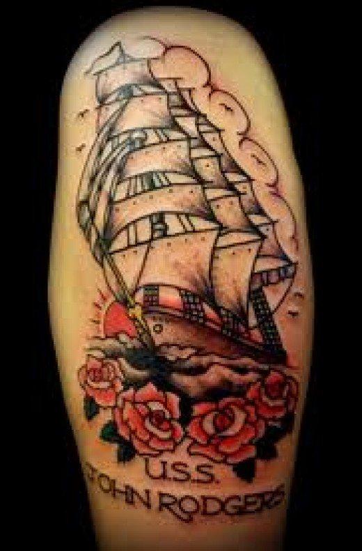 ship tattoos photo - 19