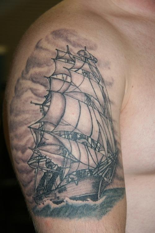 ship tattoos photo - 2