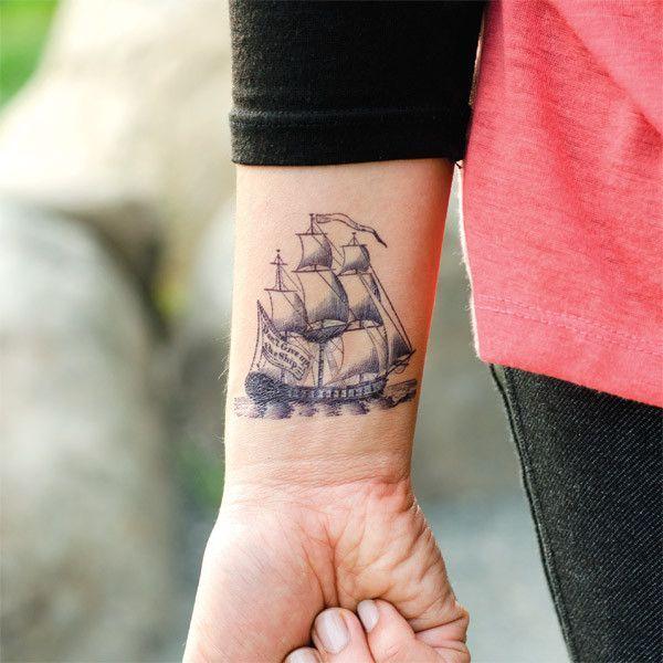 ship tattoos photo - 20