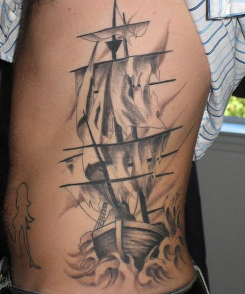 ship tattoos photo - 23