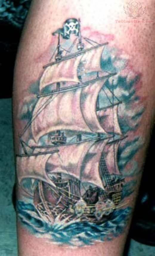 ship tattoos photo - 24