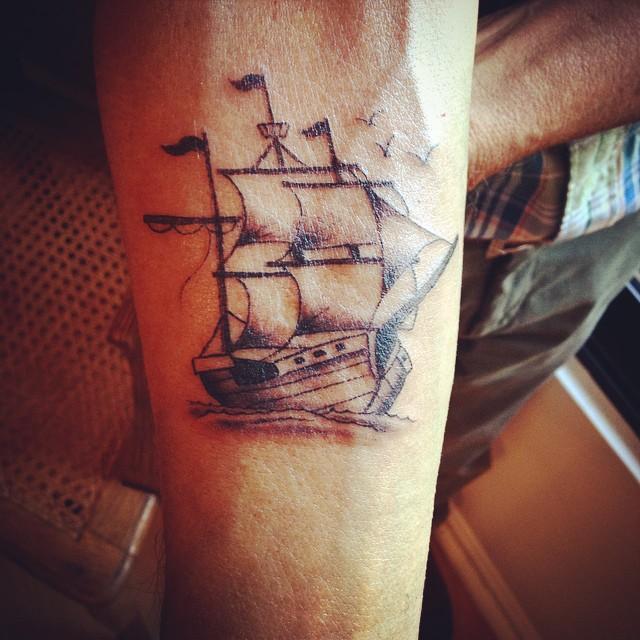ship tattoos photo - 25