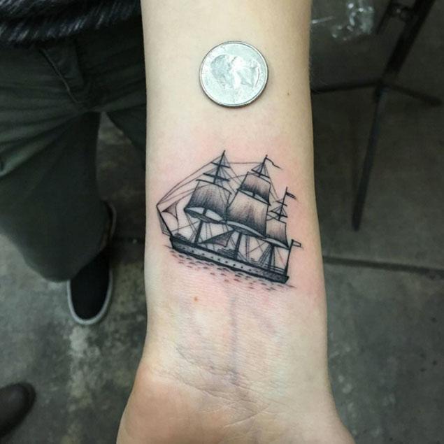 ship tattoos photo - 26