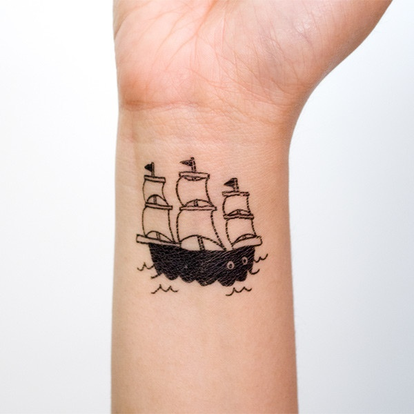 ship tattoos photo - 31