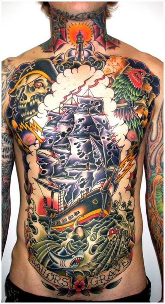 ship tattoos photo - 32