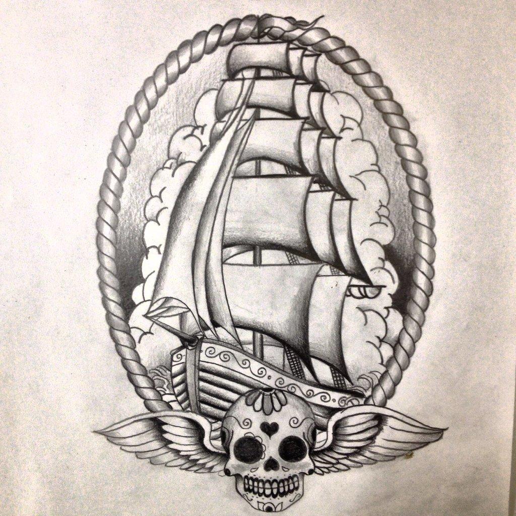 ship tattoos photo - 33