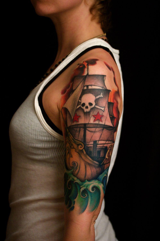ship tattoos photo - 34