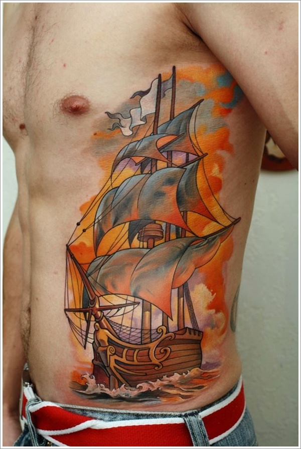 ship tattoos photo - 5