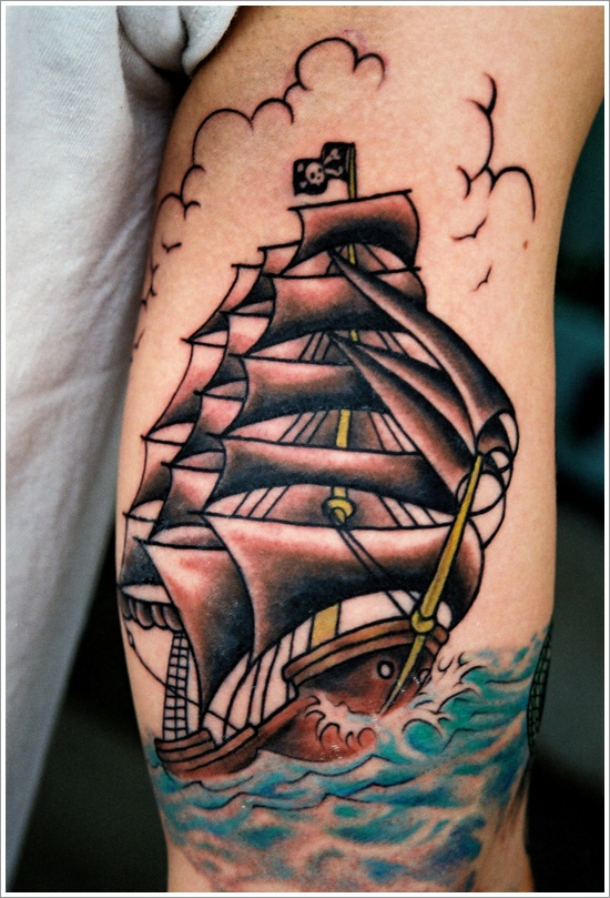 ship tattoos photo - 6