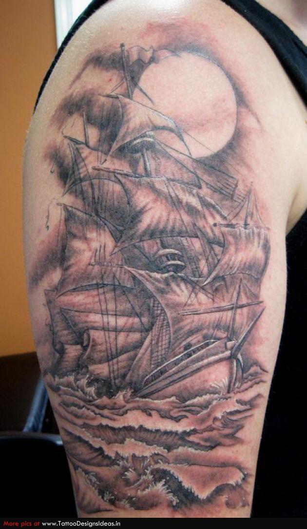 ship tattoos photo - 7