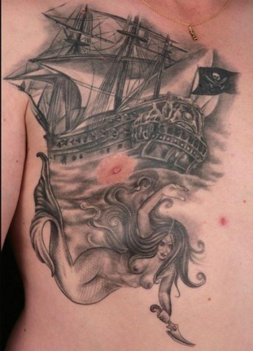 ship tattoos photo - 8