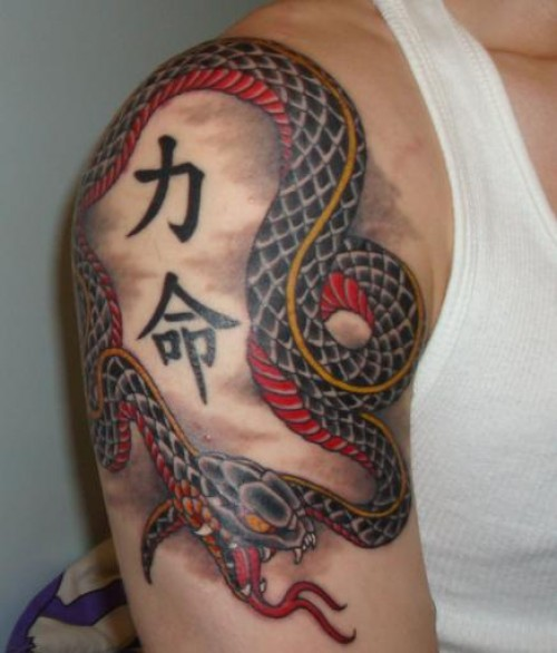 snake tattoos photo - 19