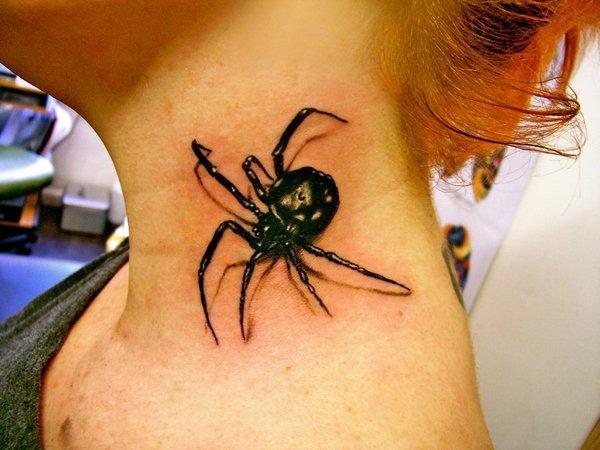 spider tattoos photo - 11