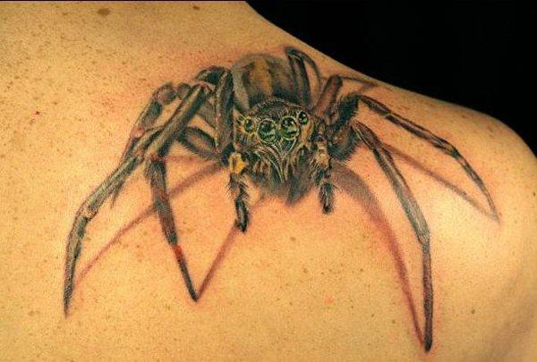 spider tattoos photo - 2