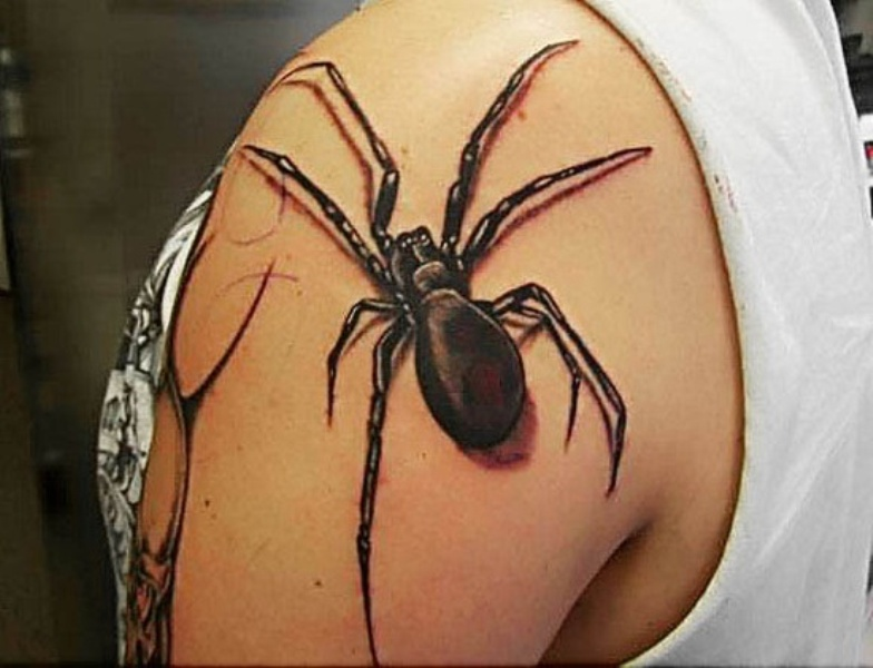 spider tattoos photo - 22