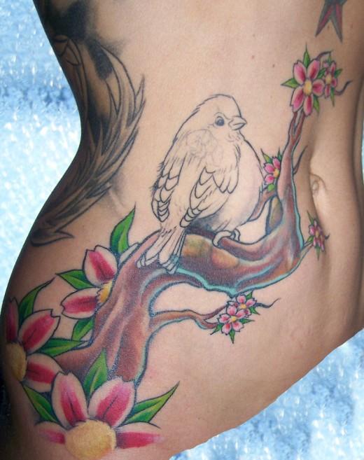 stomach tattoos photo - 1