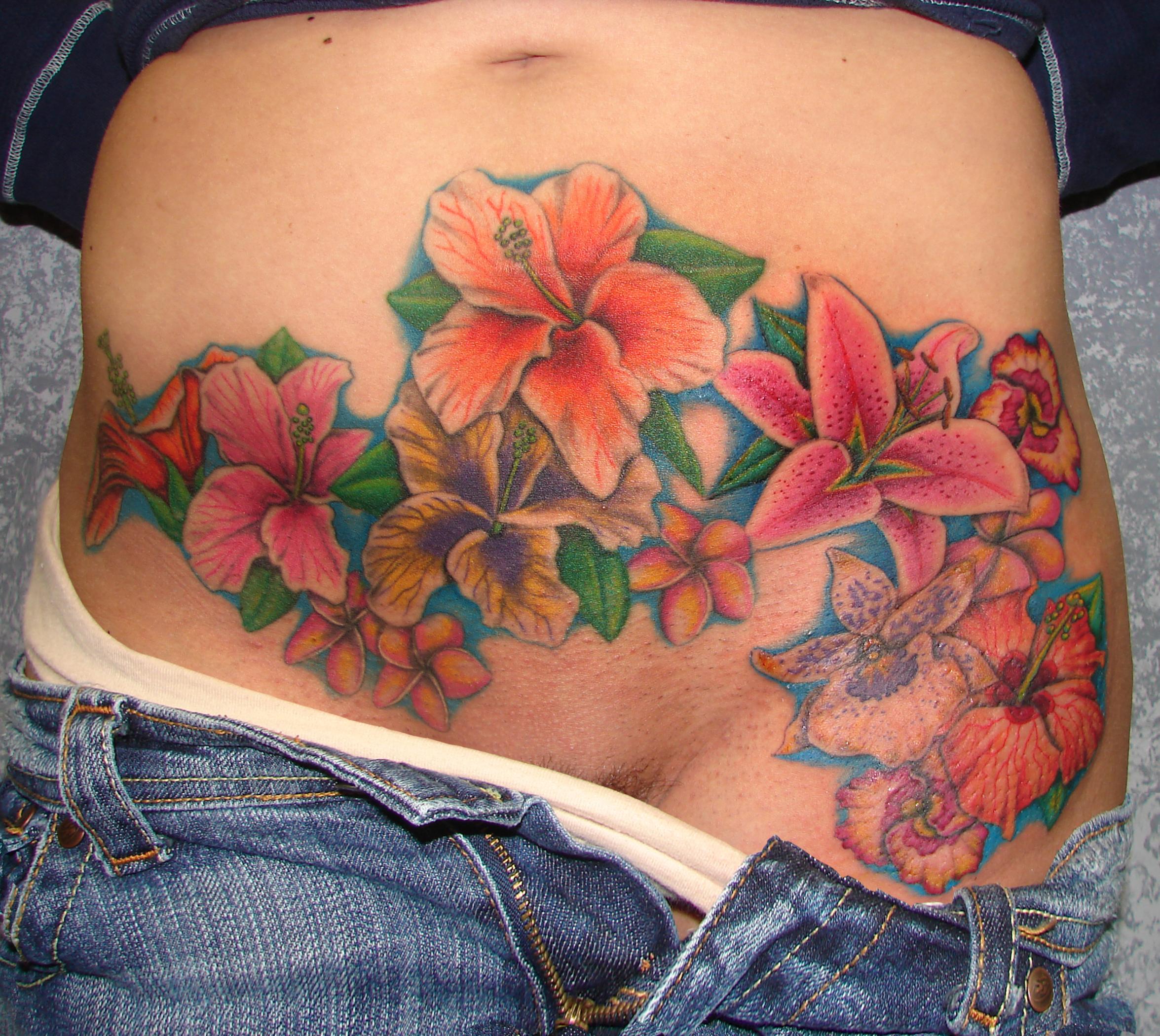 stomach tattoos photo - 22