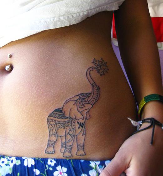 stomach tattoos photo - 26