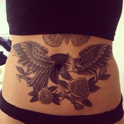 stomach tattoos photo - 28