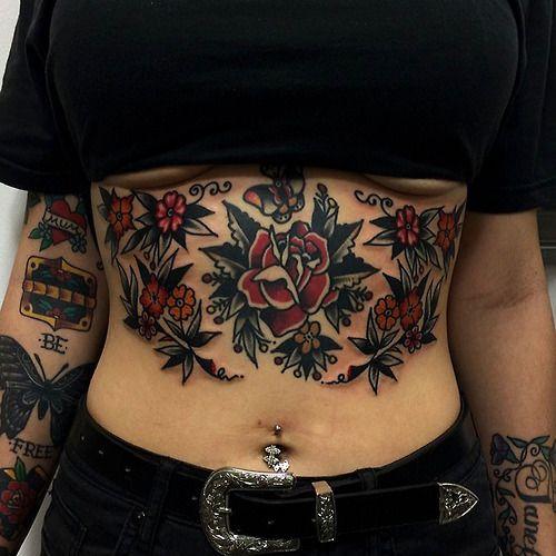 stomach tattoos photo - 32