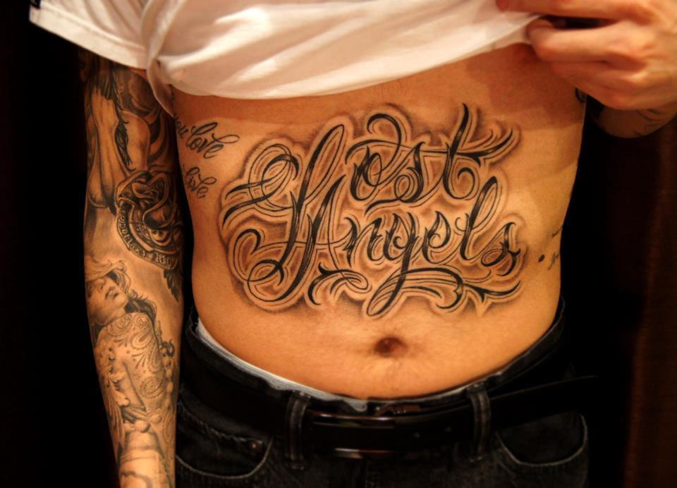 stomach tattoos photo - 40