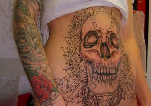 stomach tattoos photo - 5