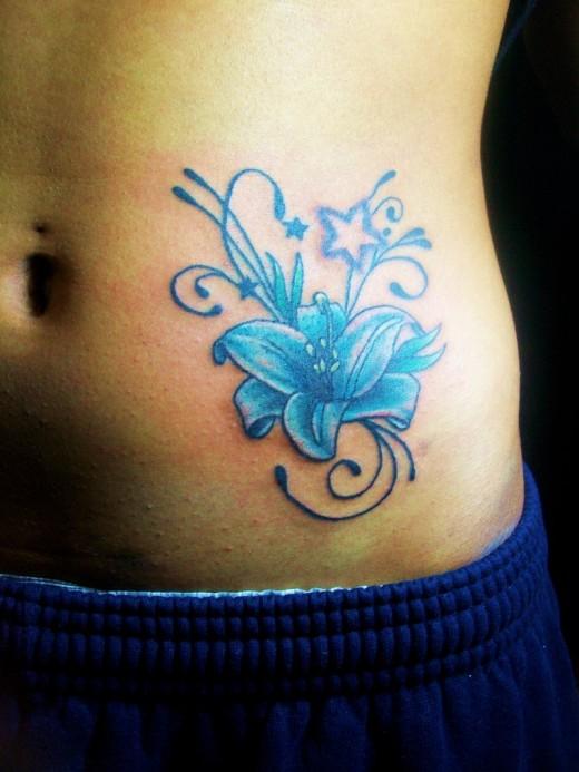 stomach tattoos photo - 8