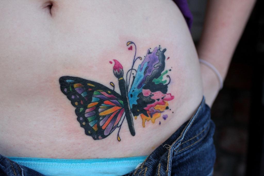 stomach tattoos photo - 9