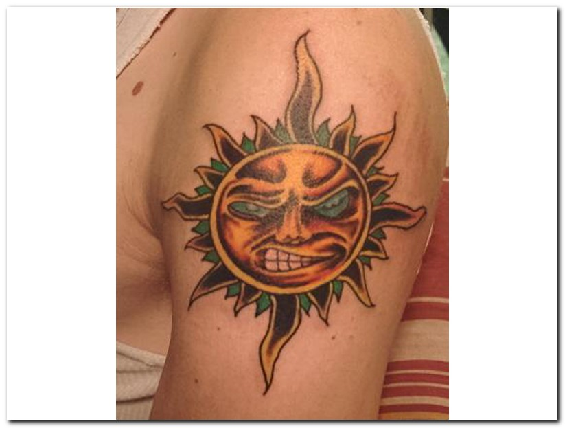 sun tattoos photo - 16