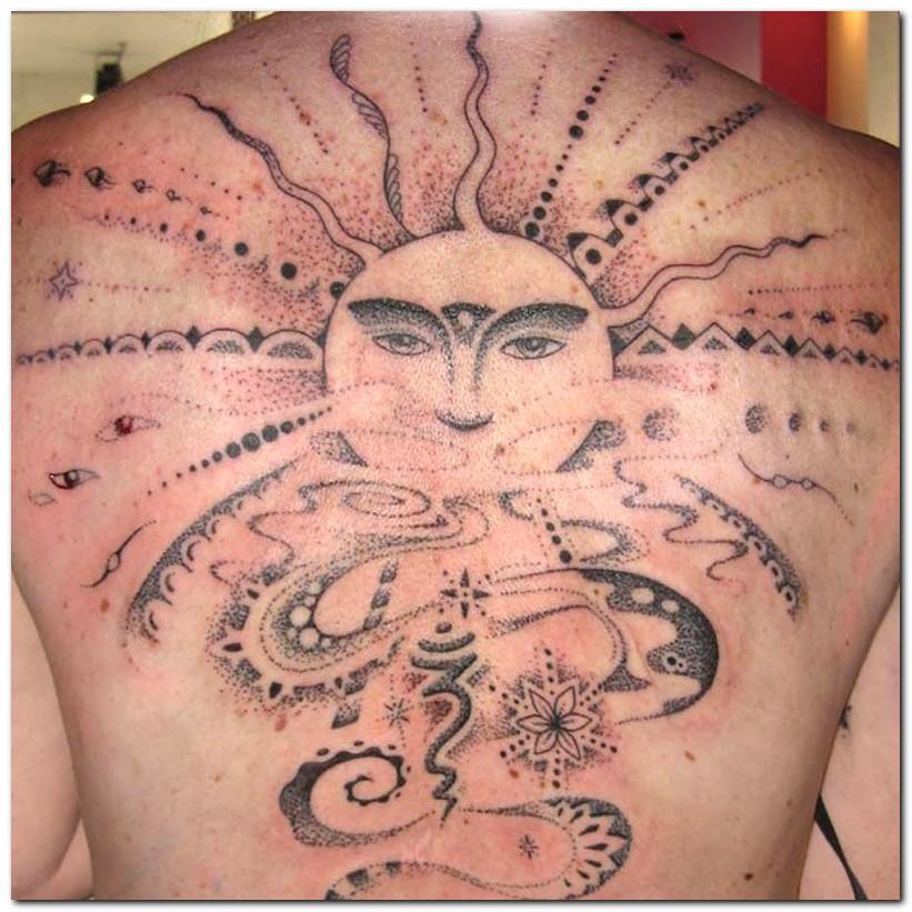 sun tattoos photo - 24