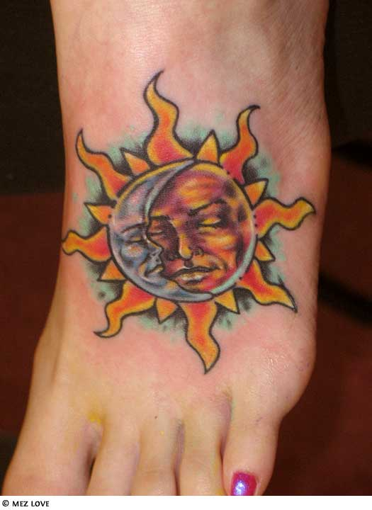 sun tattoos photo - 27