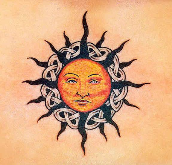 sun tattoos photo - 33
