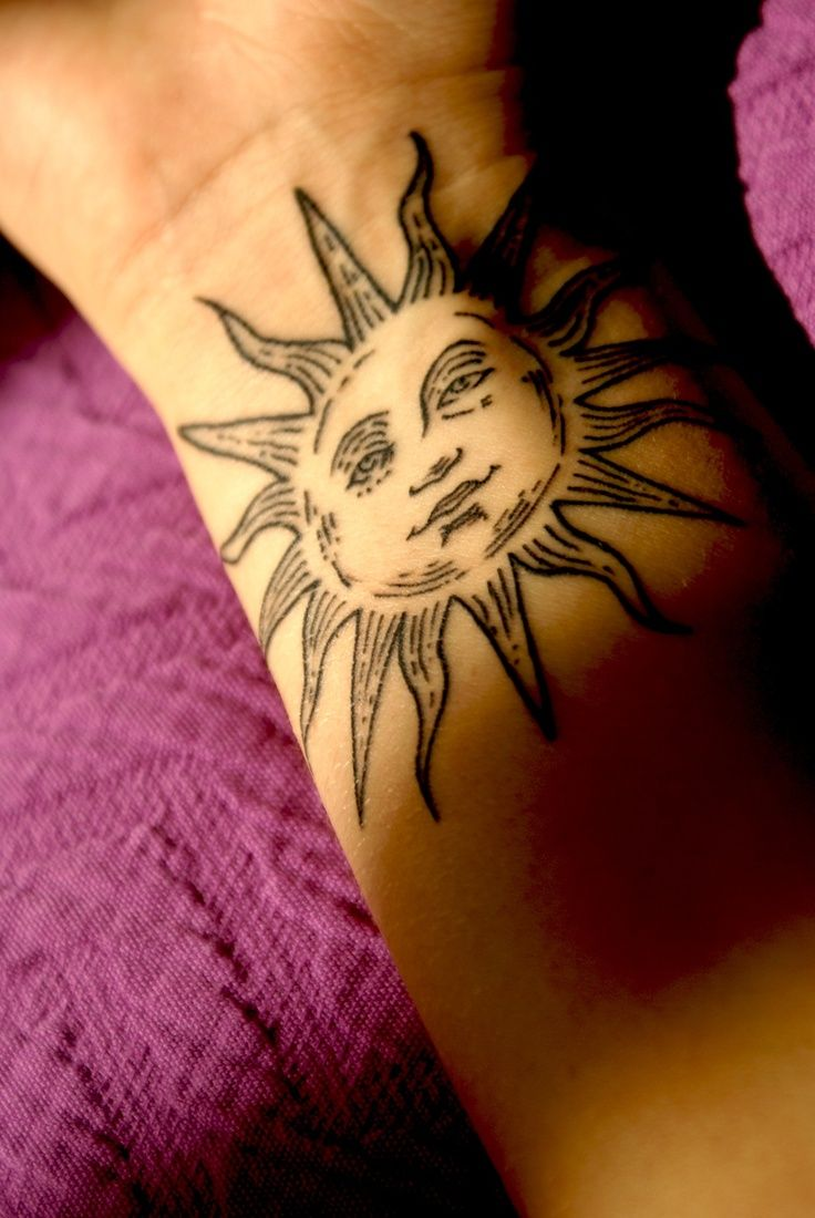 sun tattoos photo - 6